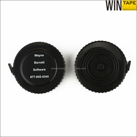 ABS case new item black tire shape cool tape measure black friday promotional gift