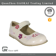 Lovely design custom washable PU princess shoe for girl