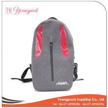 Plastic hot shot backpack bag with CE certificate