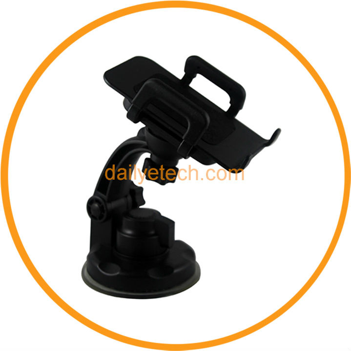 Car Windshield Mount Holder For iPhone 5 4S Samsung Galaxy S3 Mobile Phone from dailyetech