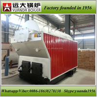 High cost performance coal/biomass/rice husk/wood fired 1ton steam boiler for rice mill