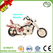 2017 Wooden Toy Motorcycle,3D Wooden Motorbike Puzzle,3D Wooden Motorcycle Puzzle