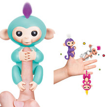 Amazon most hot product kids Christmas gift cute smart interactive baby monkey plush toy for kids