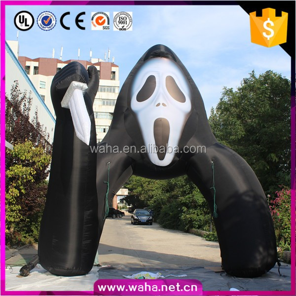 Hot Sale Inflatable Halloween Arch, Giant Halloween Inflatables With Special Shape Z048