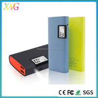 2015 10000 mAh Portable Power Bank for iphone/ipad/ipod/psp/camera digital products with LCD screen