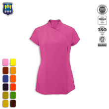Soft natural stretch durable fabric uniform for spa