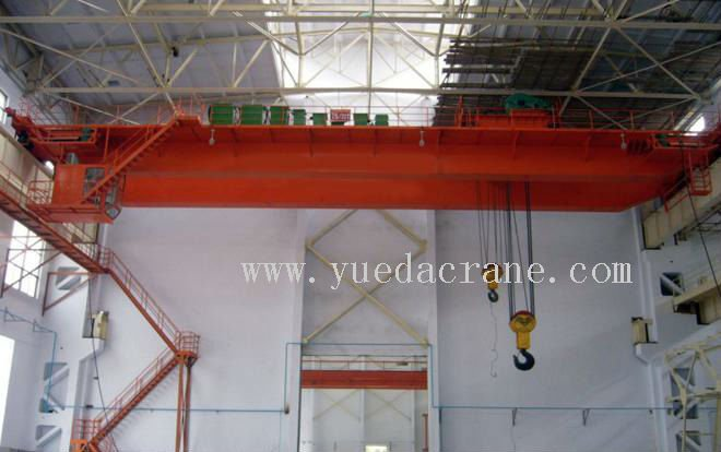 QD Model double girder bridge crane 300 ton mobile crane