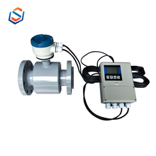Electromagnetic flow meter with batch controller/salt waste water/acid flowmeter