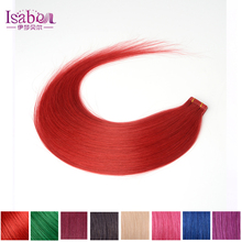 8''-30''inch 100% Natural Hair, Remy Tape Hair, Tape Hair Extension 20pcs/set MORE Colors Optional Tape In Human Hair