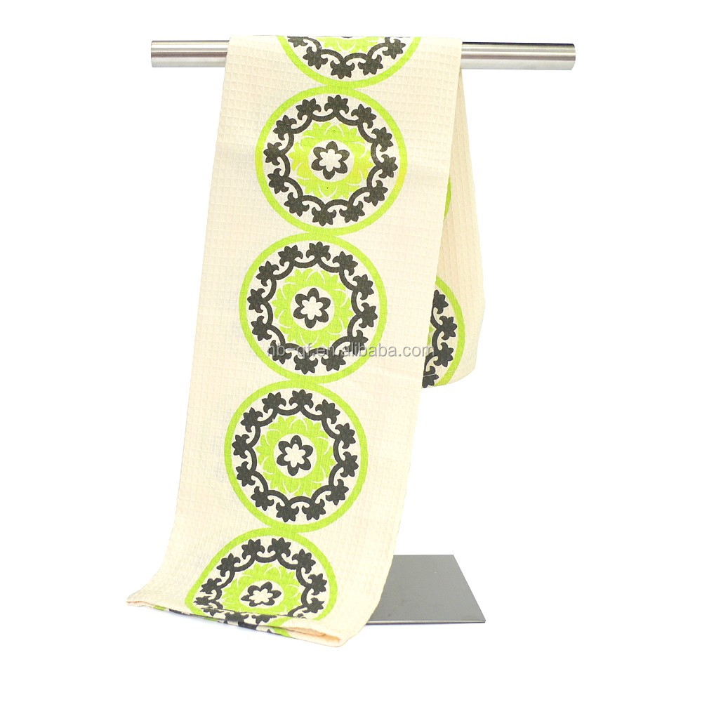 China manufacturer 100% Cotton Customized wholesale tea towels