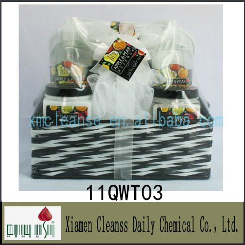 Good quality body bath gift set for promotional