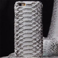 Hot New Arrival python snakeskin mobile phone covers for iphone6 plus cover cases