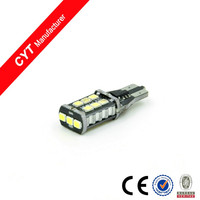 T15 15SMD White Canbus Led Lights Car Brake Light Auto led bulb/BL3601