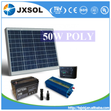 complete system pv module poly crystalline 50 watt solar panel for big project