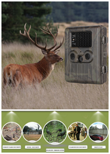 Rechargeable gsm mms Deer hunting equipment 1080p trail camera HT002LIM