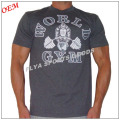 2018 gym wear dry fit custom design men golds muscle gym t shirt