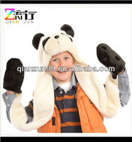 Winter Plush Children Head Furry Animal Hat