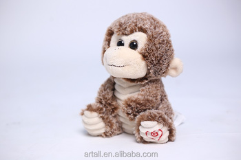 Popular custom stuffed animal monkey plush toys