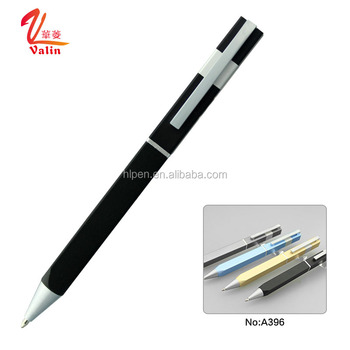 Best stationery promotional customized logo luxury metal ballpoint pen