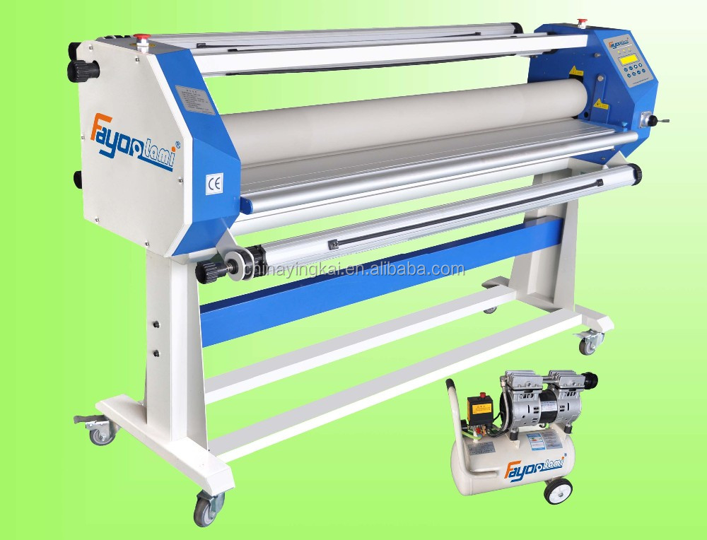 Fayon hot roll to roll laminator machine for graphic laminating FY1600A