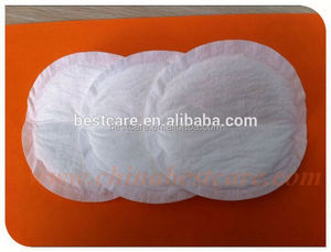 2015 hot sale medical underpad boob pads cotton breast pad