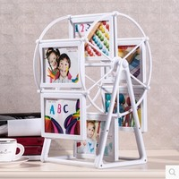 Studio Wedding photo frame White Windmill hot photo baby picture frames birthday christmas graduation gift home decor craft