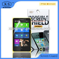 Manufacturer! PET Invisible Phone Film For Nokia X Matte Screen Protector With Design