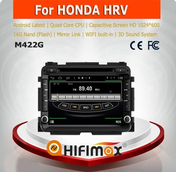 Hifimax car navigation FOR Honda VEZEL WITH Quad Core CPU 16G Hard disk HD1024*600 capacitive screen