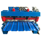 Aluminum roofing tile sheet panel roll forming making machine