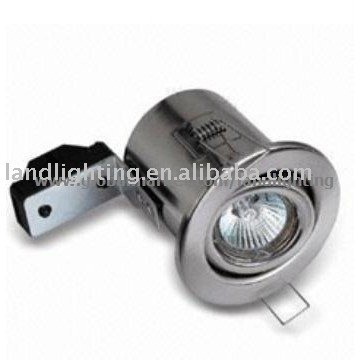 low voltage fire rated downlights
