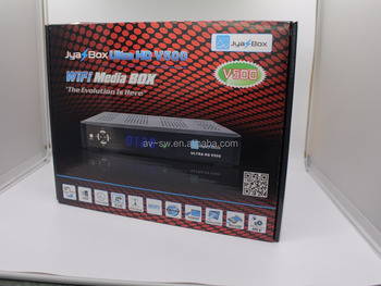 NEW arrival JYAZBOX ultra hd v500 satellite TV receiver support ATSC turbo 8psk dvb-s2 FTA receptor better than jynxbox