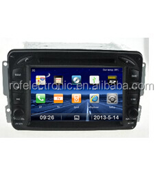 Mercedes C-W203: (2000-2005) car dvd player with gps radio Support 3G
