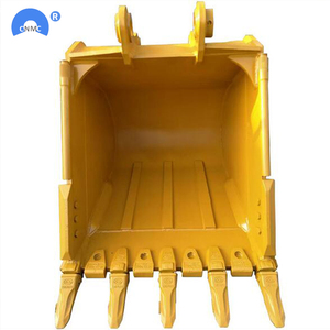 heavy duty rock drilling bucket for skid steer loader and excavator bucket