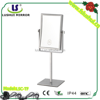 fancy standing make up mirror