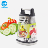Multi-purpose cheese vegetable food box grater