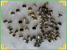 colorful iron push rivet for wood or plastic board