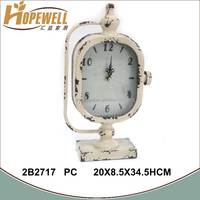 wholesale metal clock dial , table clock import from china