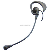 Ear hook type two way radio earphone