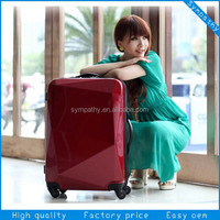 Beautiful luggage set hard case trolley bag