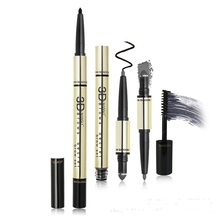 Good quality long lasting eyebrow pencil auto eyebrow pen