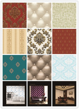 top fashion elegant design PVC wallcovering/wallpaper