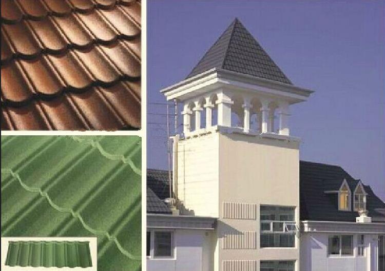 high quality soundproof metal roofing tile clay roof tiles small size high quality soundproof metal roofing tile