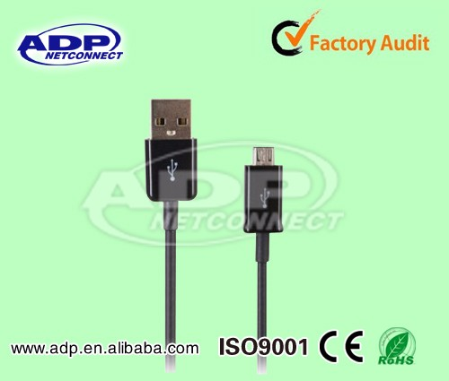 2017 Wholesale high speed best price usb shielded high speed cable 2.0 revision 28awg 2c 24awg 2c