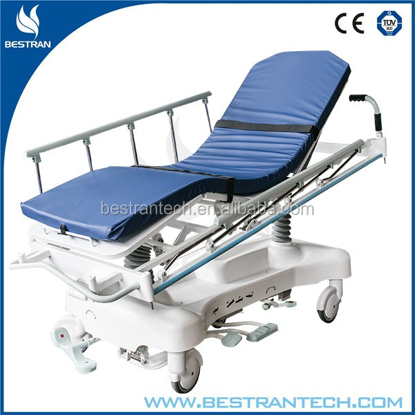 BT-TR001 CE/ISO manufacturer sale hospital medical emergency trolley hydraulic emergency room beds price