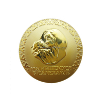 Cuatomized 24k gold coin with coin case