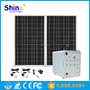 100W Factory Price Mini Solar System with Mobile Charger