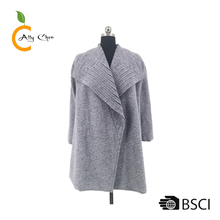 attractive design and manufacture fur coat women