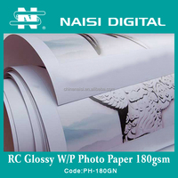180gsm inkjet a4 size RC Glossy Photo printing paper