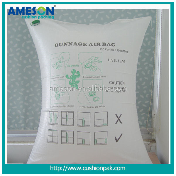 Rock bottom price & high quality container dunnage air bag