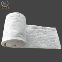 Ceramic fiber blanket insulation materials for electric power industry